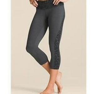 Athleta Splits Revelation Paisley Capri XS SA6